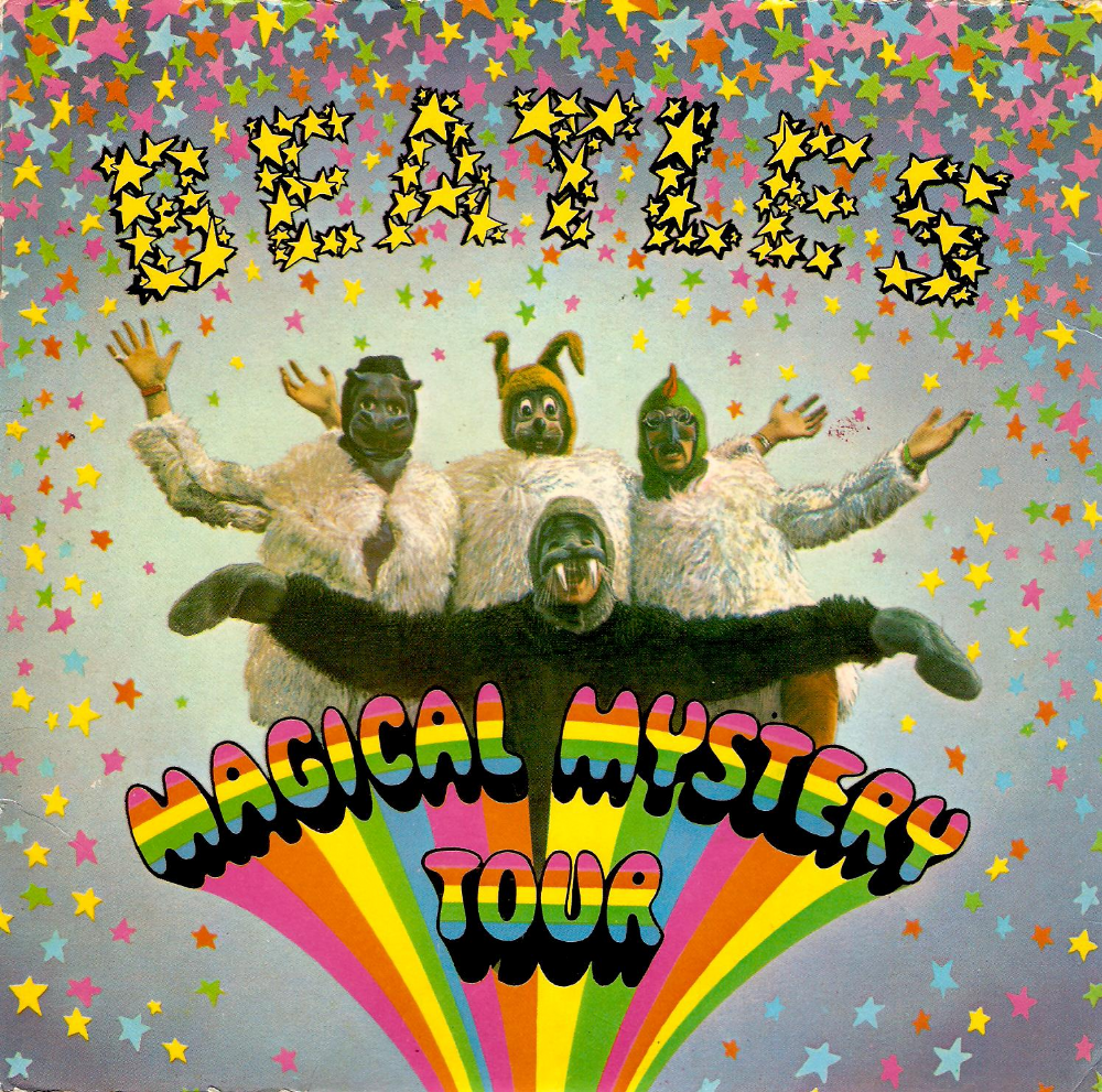 THE BEATLES Magical Mystery Tour EP Vinyl Record 7 Inch Parlophone
